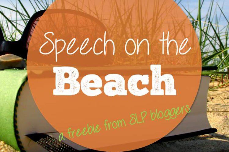 Speech on the Beach e-Zine Freebie from SLP Bloggers