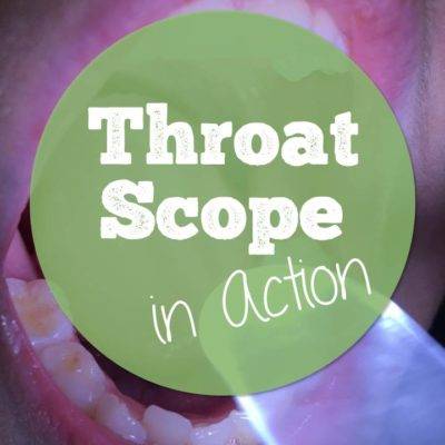 Easier Assessments (and Artic) with Throat Scope