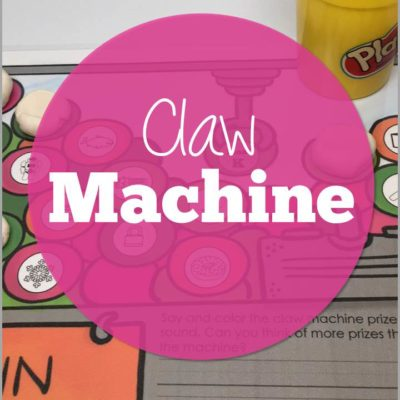 Claw Machine Articulation and Phonemic Awareness Skills