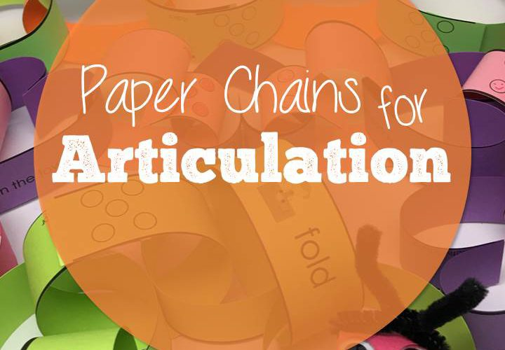 Paper Chains for Articulation