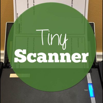 Tiny Scanner for Parent Communication in Speech Therapy