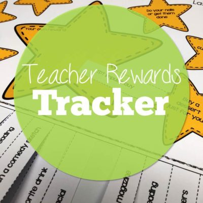 Teacher Reward Tracker and Countdown Calendar (FREEBIE)