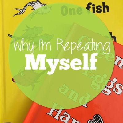 I Keep Repeating Myself