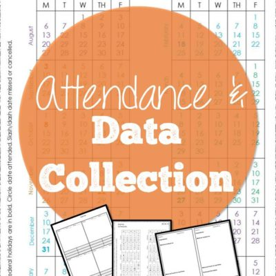 Attendance and Data Collection 2018-19 FREEBIE