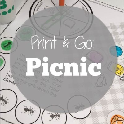 Print & Go: Picnic Theme