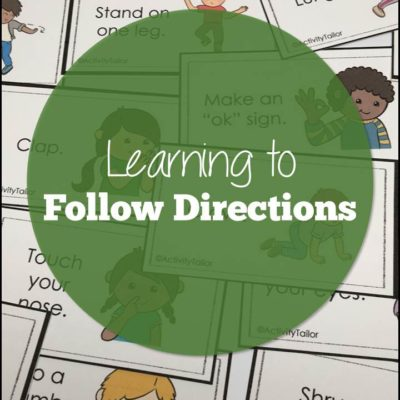 Learning to Follow Directions in Speech Therapy