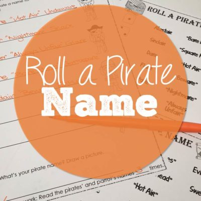 Roll A Pirate Name
