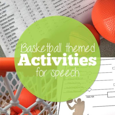 Basketball Themed Speech for March Madness