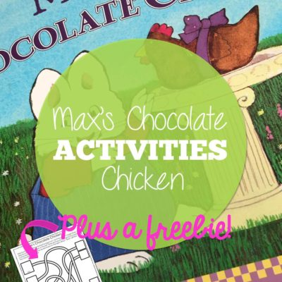 Max's Chocolate Chicken Activities
