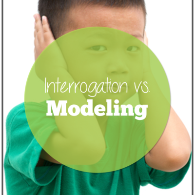 Are You Interrogating or Modeling?
