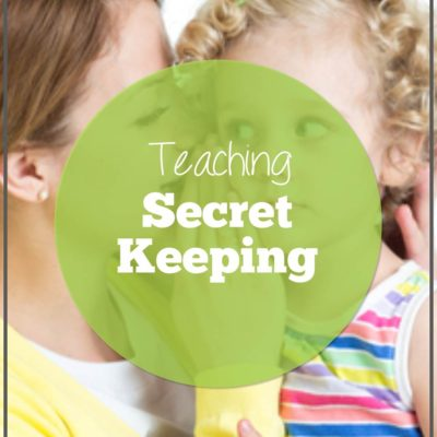 Teaching Secret Keeping