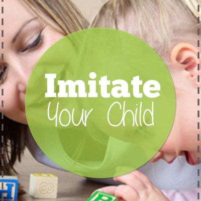 Why you should imitate your child