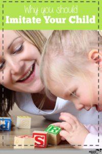 imitate your child to improve language skills