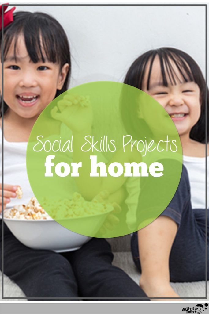 social skills projects for home