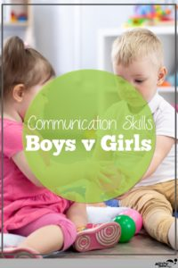 boy's and girl's communication skills