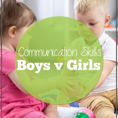 Communication Skills Boys vs. Girls