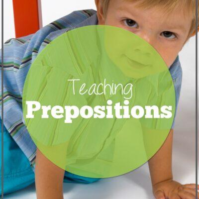 Teaching Prepositions