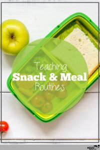 meal routines at home