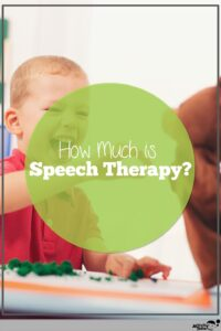 the price of speech therapy