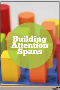 a shape sorter can build attention span
