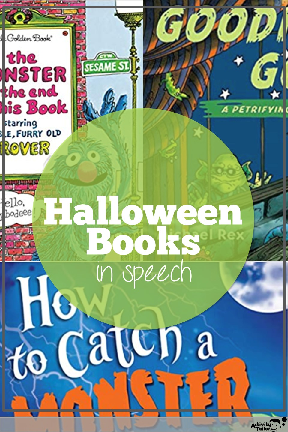 Halloween books in speech